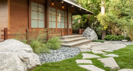 Japanese Garden Design Exterior Worlds
