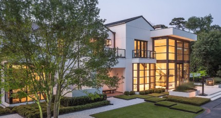 Contemporary Residential Landscaping Exterior Worlds