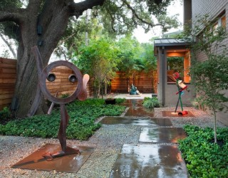 Case Study: Contemporary Landscape Design in Houston