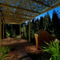 How a Metal Gazebo Compliments Contemporary Gardens and Art