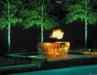 Custom Fire & Water Fountain Design Case History