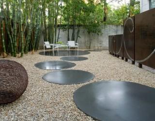 Modern Landscape & Fountain Installation Case Study