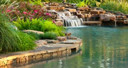 Learn about Natural Stone Landscaping.