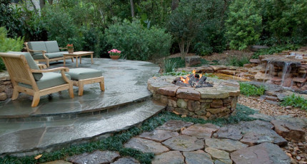 Stone Landscaping Walls